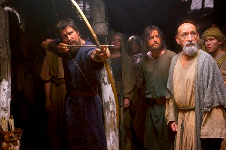 christian bale and sir ben kingsley EXODUS GODS AND KINGS