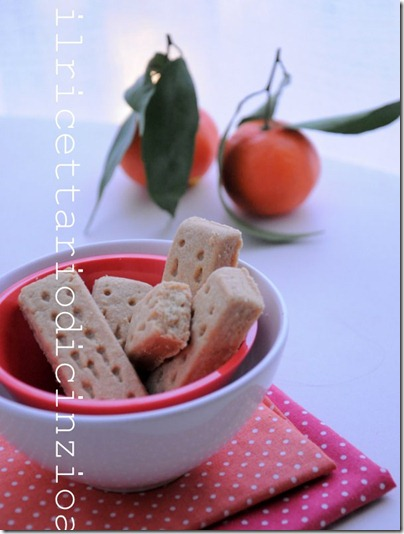 "shortbread al profumo di mandarino di ""biscotti di Natale"" di Barbara Torresan"