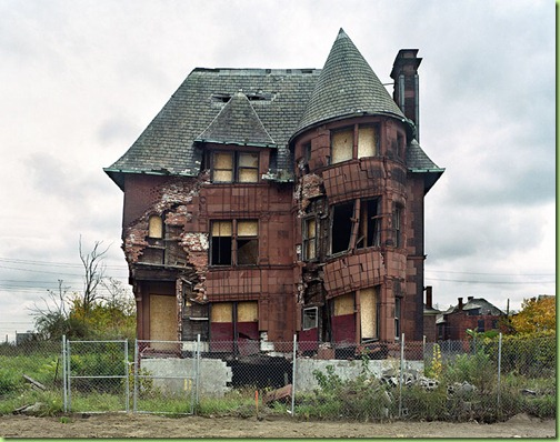 detroit ruin