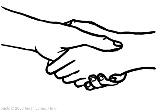 'Handshake' photo (c) 2006, Aidan Jones - license: http://creativecommons.org/licenses/by-sa/2.0/