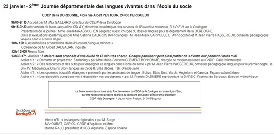Jornada per la lenga occitana