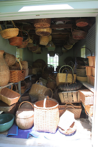 This is incredible!  It's a house full of baskets!  This could provide for lot's of fun.
