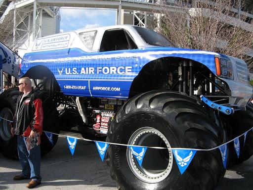 monster rally car