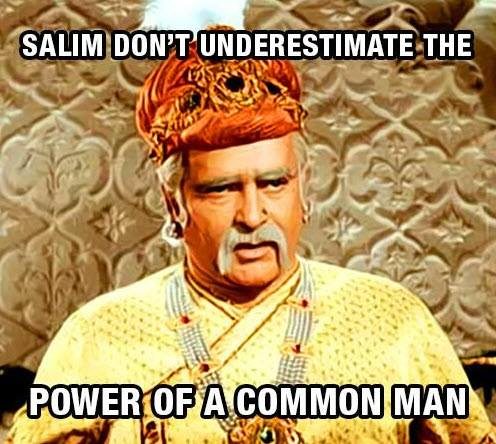 Dont underestimate the power of common man ;-) :-p | DAILY VEG JOKES