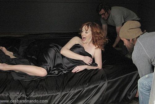 Christina Hendricks linda sensual sexy sedutora decote peito desbaratinando (24)