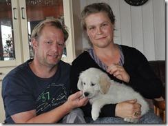 Angelique og Henning med Carlo