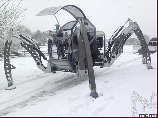 Mantis, Robot Segala Medan Berkaki Enam