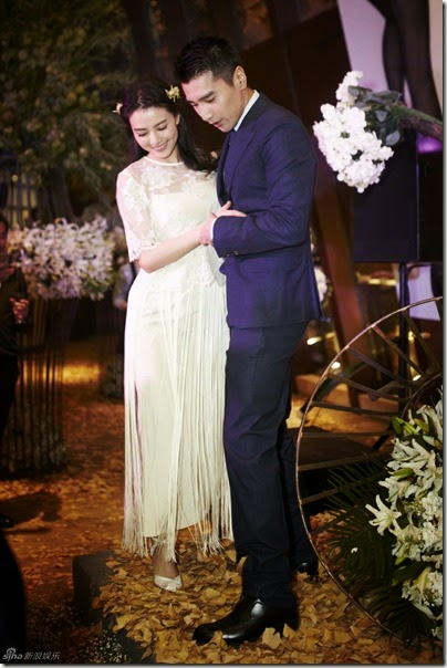 Mark Chao X Gao Yuan Yuan Wedding 赵又廷 高圆圆 婚礼 16
