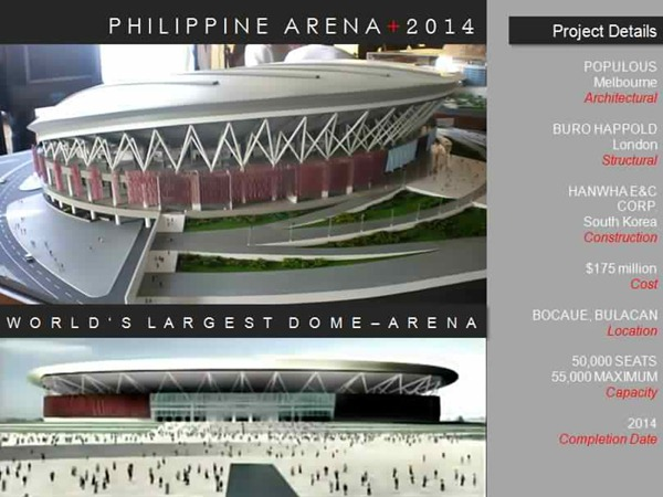 The Philippine Arena: The World's Largest Dome Arena