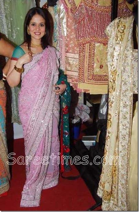 Aparna_Tilak_Pink_Saree
