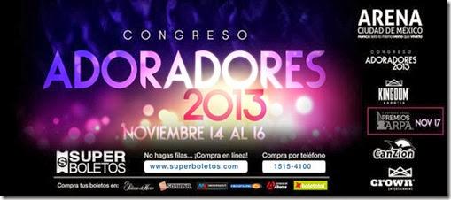 Congreso de adoradores 2013