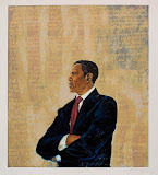 Limited edition serigraph of Barack Obama, by Chaz Guest
