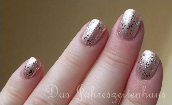 Silvester Nageldesign Champagner Nails 5