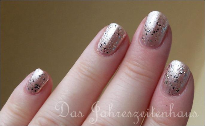 Silvester Nageldesign Champagner Nails 5