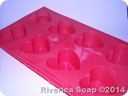 Heart silicone