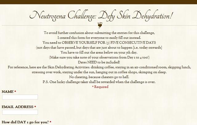 Neutrogena Challenge