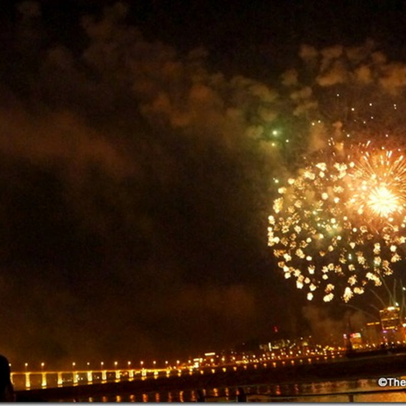 Macau Day 1 (Macau Tower, cafe360 & Fireworks Display!)