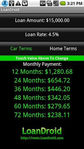 Loan Calculator - LoanDroid