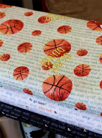 baseketball fabric