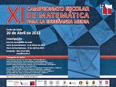 Finaliza el undécimo Campeonato de Matemática dirigido a estudiantes de Enseñanza Media