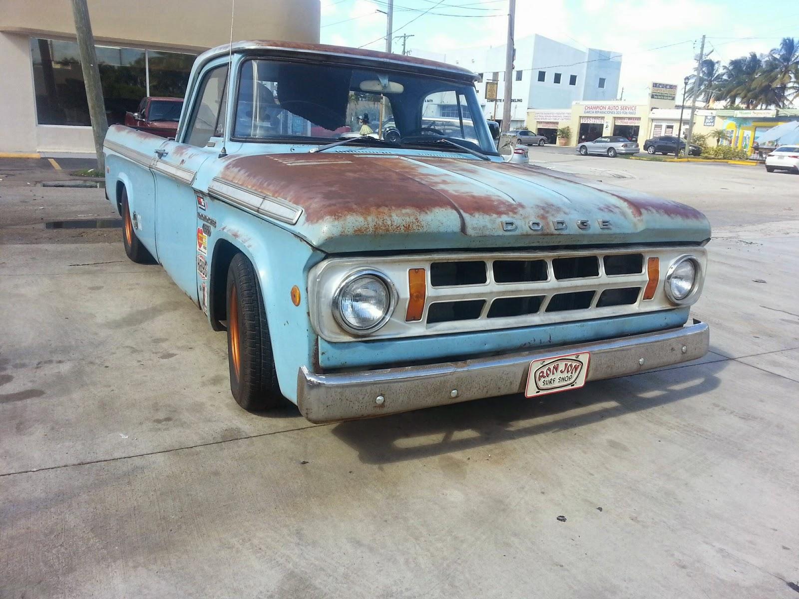 1968 Dodge D100 Rat Rod Martins Dream Garage Pick Up