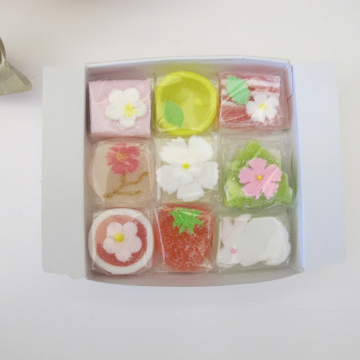 This candy is too pretty to eat.