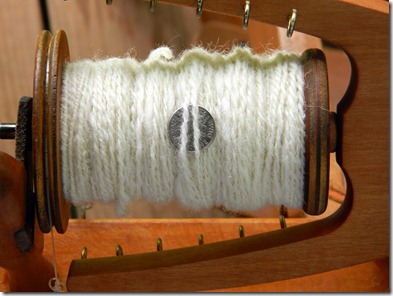 the four hour ply; 120 yds 2ply corriedale 16wpi!
