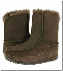 Fitflop Mukluk Winter Boot Chocolate