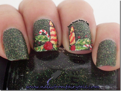 merry christmas nail art 4