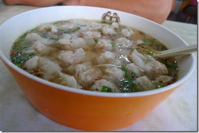 Mini Wonton Soup