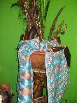assentamento de orixá no candomblé - igba