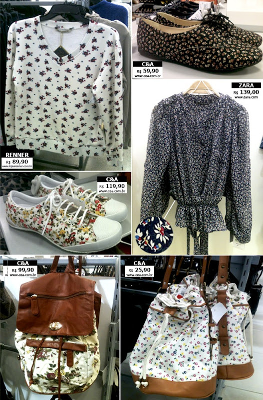 moda feminina roupas com estampa floral 2