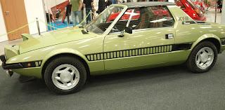 Fiat X1.9 model z 1977r. silnik 1.3l OHC, umieszczony centralnie