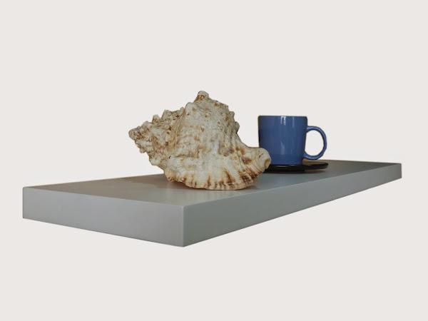 Matt White Floating Shelf 600 900 1200 X240x38mm  White Floating Shelves
