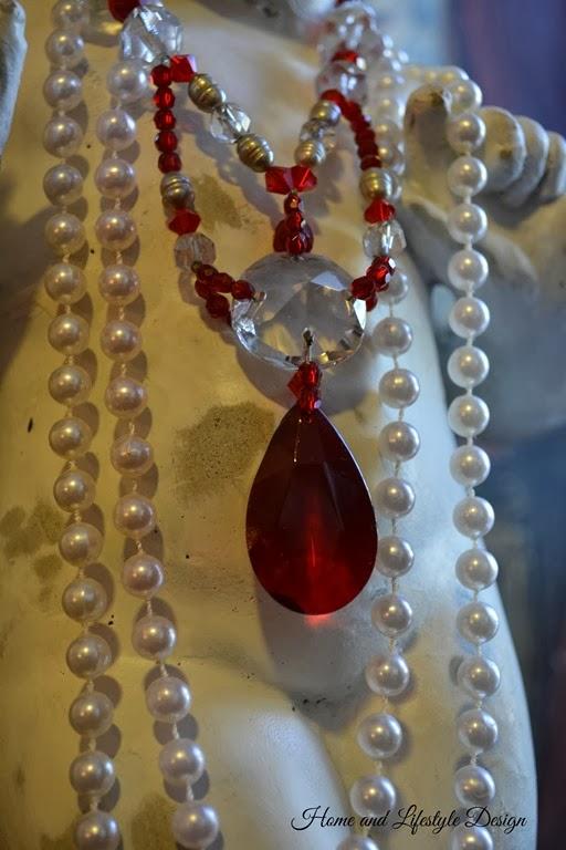 Red Valentine Cherub