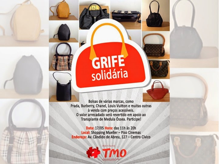 grife solidaria shopping mueller bazar