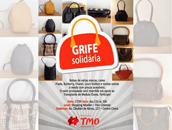 grife solidaria shopping mueller bazar