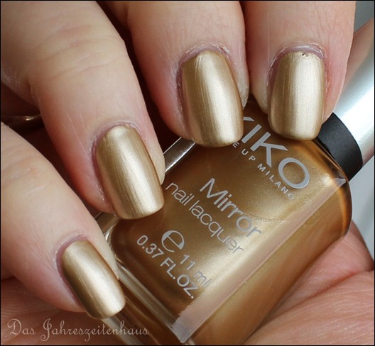 KIKO Mirror 628 Gold 5