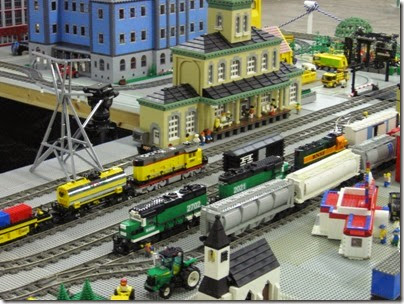 IMG_0245 Greater Portland Lego Railroaders Layout at the Great Train Expo in Portland, Oregon on February 16, 2008