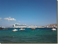 Ruby Princess and Costa Atlantica (Small)