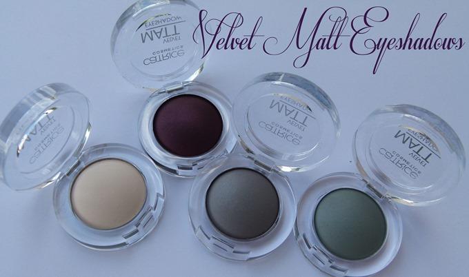 Velvet Matt Eyeshadows Catrice