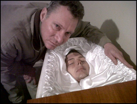 CLARKSON pastor Cliff with only son George murdered Dec 3 2011 Voelklip Hermanus