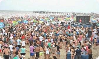 En febrero, durante el fin de semana largo de carnavales, La Costa recibió más de 285 mil visitantes