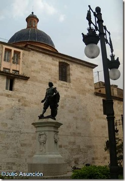 Estatua de Ribera en Valencia