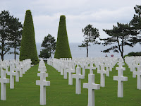 US Memorial Graveyard at Omaha Beach