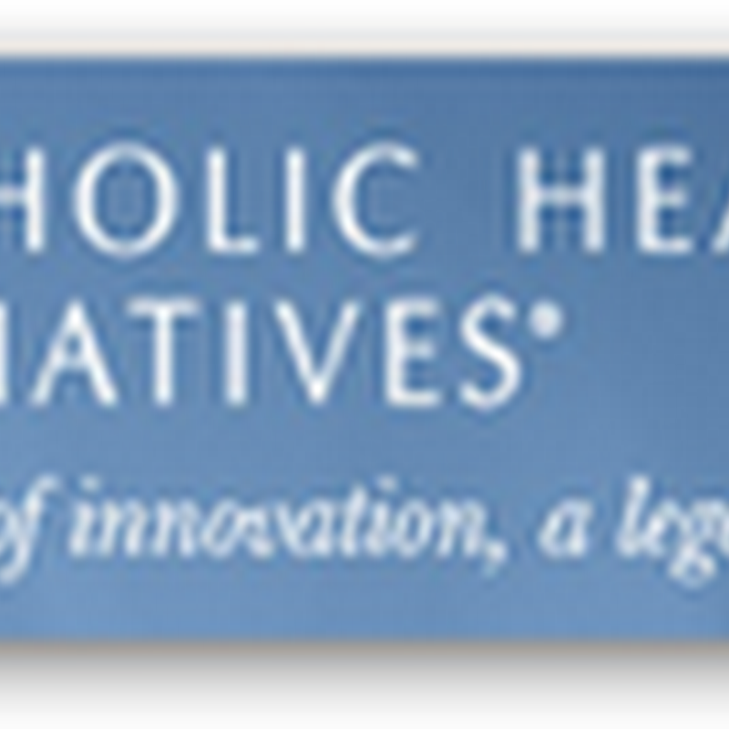 Catholic Health Initiatives To Invest $200 Million in Various Areas of Healthcare Via Newly Created VC Group–Non-Profit Portfolio Algorithms