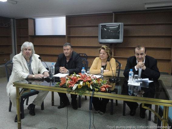 Η συνέντευξη τύπου της Προέδρου της Κοινωνικής Συμφωνίας, Λούκας Κατσέλη, στην Κεφαλονιά
