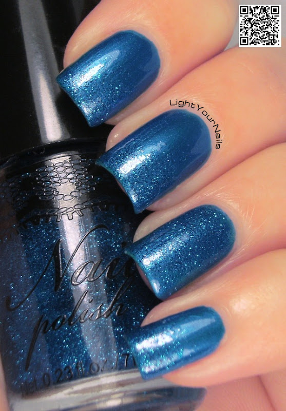 H&M Super Blue + H&M Blue Glitter
