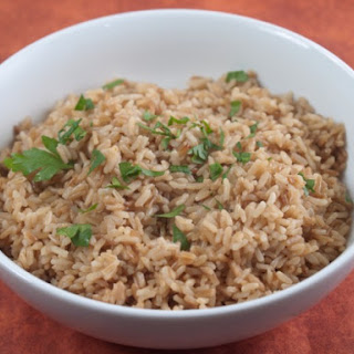 Basic Brown Rice Under Pressure
