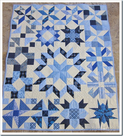 Jen throw quilt